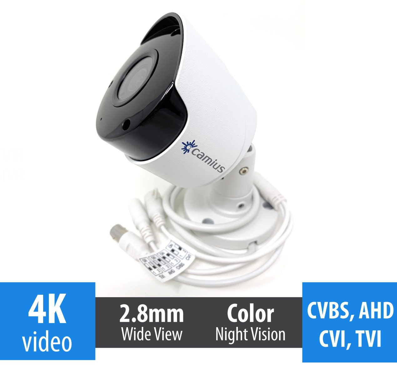 8mp-analog bullet camera camius FB4KATC